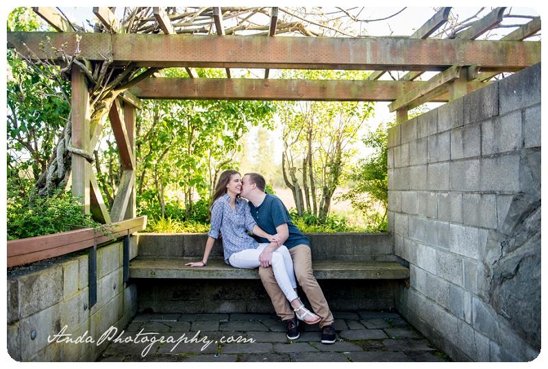 Bellingham Ferndale Hovander Park Engagement Session Kyle Melissa_0001