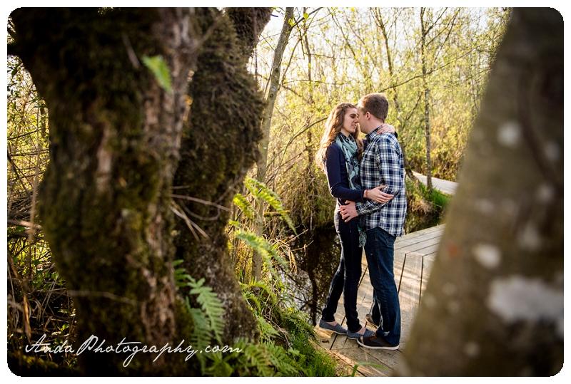 Bellingham Ferndale Hovander Park Engagement Session Kyle Melissa_0003