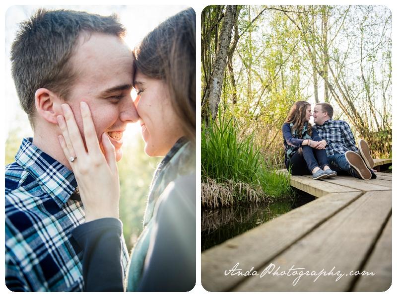 Bellingham Ferndale Hovander Park Engagement Session Kyle Melissa_0008
