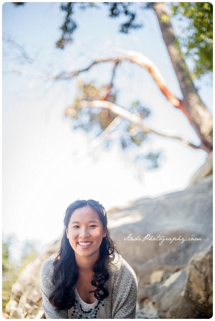 Bellingham Senior Photography Portraits Larrabee State Park Audrey_0001