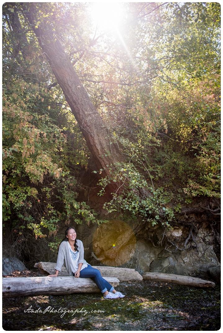 Bellingham Senior Photography Portraits Larrabee State Park Audrey_0006