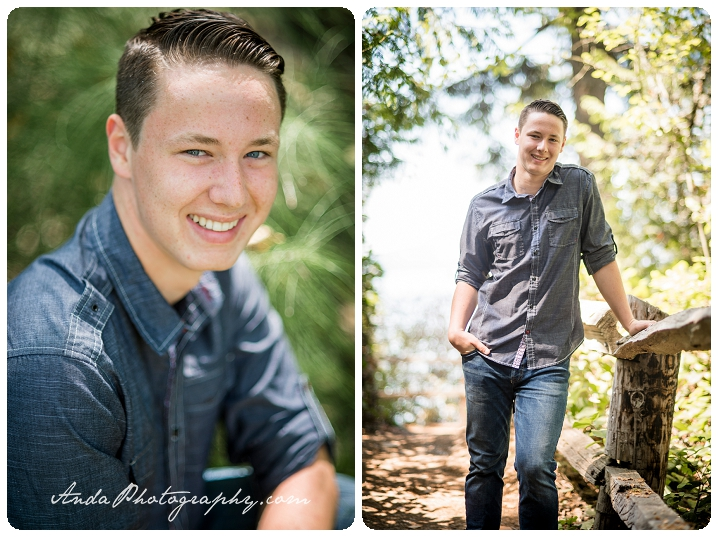 Bellingham Senior Photography Portraits Larrabee State Park photos Logan_0002