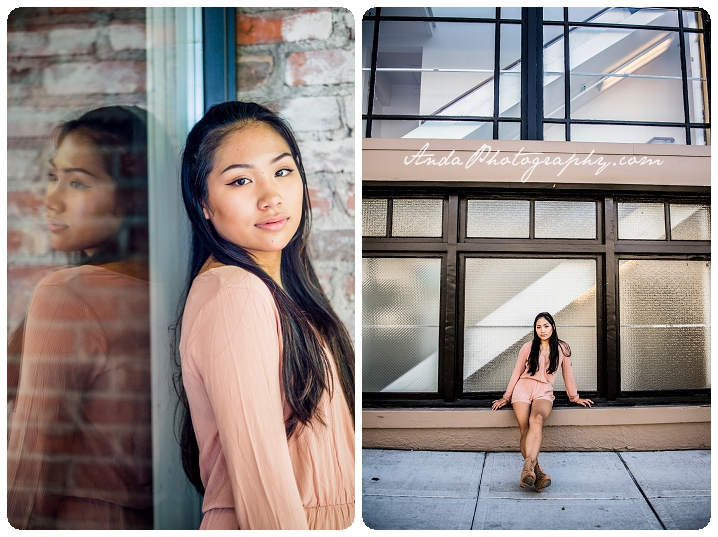 Bellingham Senior Portrait Photography Downtown Urban Chic Senior Photos Mika_0006