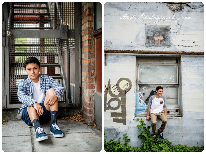 Bellingham Senior Portrait Photography Urban Downtown Guy Senior Photos Julio_0005